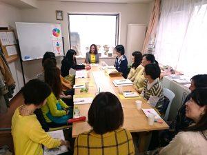 オーラソーマ勉強会の写真